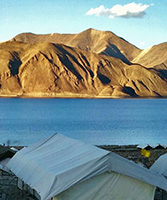 Mystic Pangong Swiss Cottage Camp